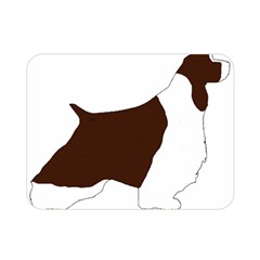English Springer Spaniel Silo Color Double Sided Flano Blanket (Mini)