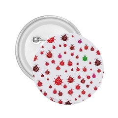 Beetle Animals Red Green Fly 2.25  Buttons