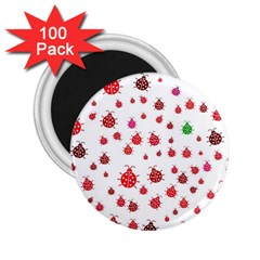 Beetle Animals Red Green Fly 2.25  Magnets (100 pack)
