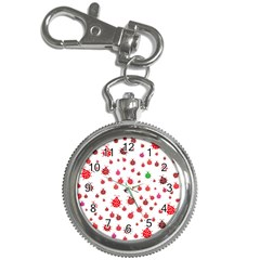 Beetle Animals Red Green Fly Key Chain Watches