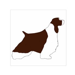 English Springer Spaniel Silo Color Small Satin Scarf (Square)
