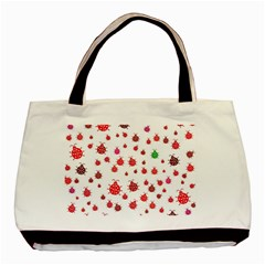Beetle Animals Red Green Fly Basic Tote Bag