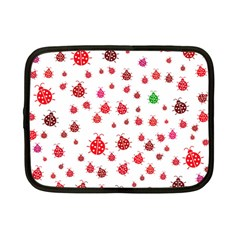 Beetle Animals Red Green Fly Netbook Case (small)