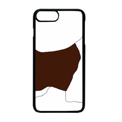 English Springer Spaniel Silo Color Apple iPhone 7 Plus Seamless Case (Black)