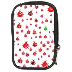 Beetle Animals Red Green Fly Compact Camera Cases