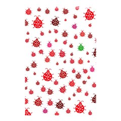 Beetle Animals Red Green Fly Shower Curtain 48  x 72  (Small)