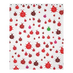Beetle Animals Red Green Fly Shower Curtain 60  X 72  (medium)