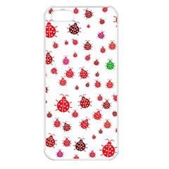 Beetle Animals Red Green Fly Apple Iphone 5 Seamless Case (white)