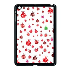 Beetle Animals Red Green Fly Apple iPad Mini Case (Black)