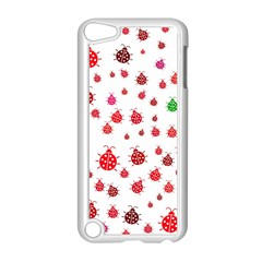 Beetle Animals Red Green Fly Apple Ipod Touch 5 Case (white)