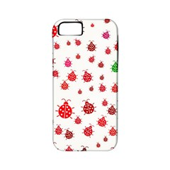 Beetle Animals Red Green Fly Apple iPhone 5 Classic Hardshell Case (PC+Silicone)