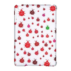 Beetle Animals Red Green Fly Apple Ipad Mini Hardshell Case (compatible With Smart Cover)