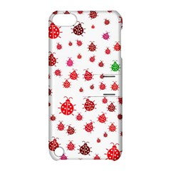 Beetle Animals Red Green Fly Apple Ipod Touch 5 Hardshell Case With Stand