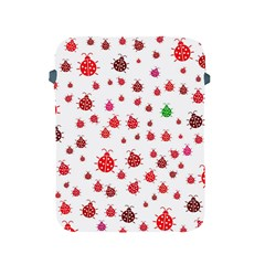 Beetle Animals Red Green Fly Apple Ipad 2/3/4 Protective Soft Cases