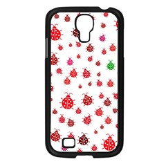 Beetle Animals Red Green Fly Samsung Galaxy S4 I9500/ I9505 Case (black)