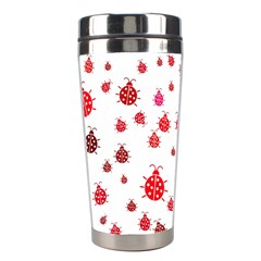 Beetle Animals Red Green Fly Stainless Steel Travel Tumblers