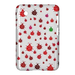 Beetle Animals Red Green Fly Samsung Galaxy Tab 2 (7 ) P3100 Hardshell Case