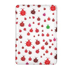 Beetle Animals Red Green Fly Samsung Galaxy Tab 2 (10 1 ) P5100 Hardshell Case