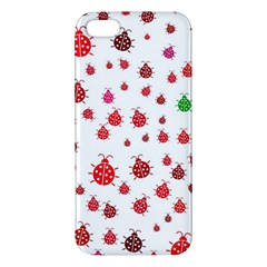 Beetle Animals Red Green Fly Iphone 5s/ Se Premium Hardshell Case
