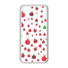 Beetle Animals Red Green Fly Apple Iphone 5c Seamless Case (white)