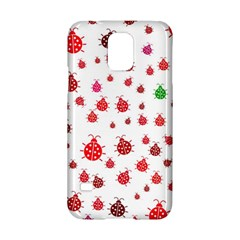 Beetle Animals Red Green Fly Samsung Galaxy S5 Hardshell Case