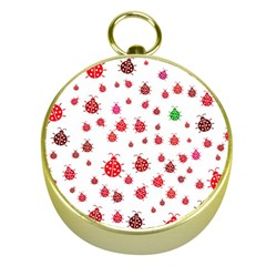 Beetle Animals Red Green Fly Gold Compasses