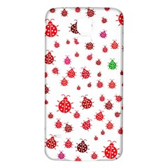 Beetle Animals Red Green Fly Samsung Galaxy S5 Back Case (white)