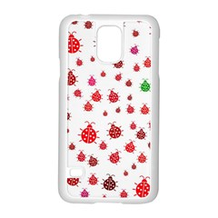 Beetle Animals Red Green Fly Samsung Galaxy S5 Case (white)