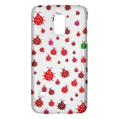 Beetle Animals Red Green Fly Galaxy S5 Mini