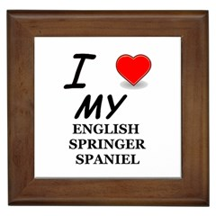 Eng Spr Sp Love Framed Tiles