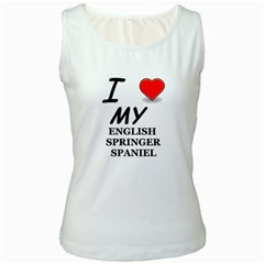 Eng Spr Sp Love Women s White Tank Top