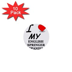 Eng Spr Sp Love 1  Mini Buttons (10 pack)