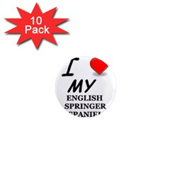 Eng Spr Sp Love 1  Mini Magnet (10 pack)