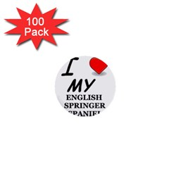 Eng Spr Sp Love 1  Mini Buttons (100 pack)