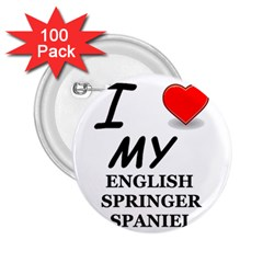Eng Spr Sp Love 2.25  Buttons (100 pack)