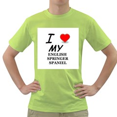 Eng Spr Sp Love Green T-Shirt