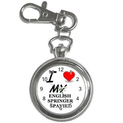 Eng Spr Sp Love Key Chain Watches