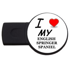 Eng Spr Sp Love USB Flash Drive Round (2 GB)