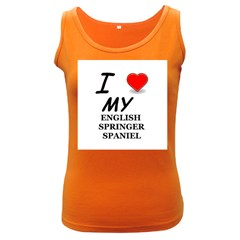 Eng Spr Sp Love Women s Dark Tank Top