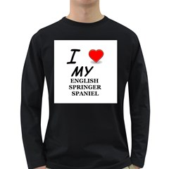 Eng Spr Sp Love Long Sleeve Dark T-Shirts