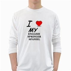 Eng Spr Sp Love White Long Sleeve T-Shirts