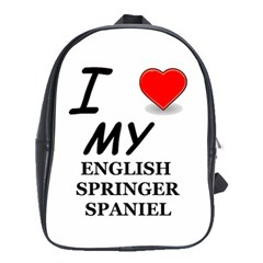 Eng Spr Sp Love School Bags(Large)