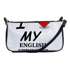 Eng Spr Sp Love Shoulder Clutch Bags