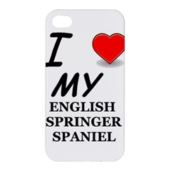 Eng Spr Sp Love Apple iPhone 4/4S Premium Hardshell Case