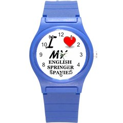 Eng Spr Sp Love Round Plastic Sport Watch (S)