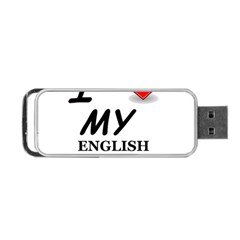 Eng Spr Sp Love Portable USB Flash (One Side)