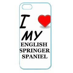 Eng Spr Sp Love Apple Seamless iPhone 5 Case (Color)