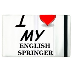 Eng Spr Sp Love Apple iPad 3/4 Flip Case