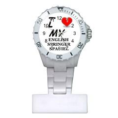 Eng Spr Sp Love Plastic Nurses Watch