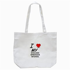 Eng Spr Sp Love Tote Bag (White)